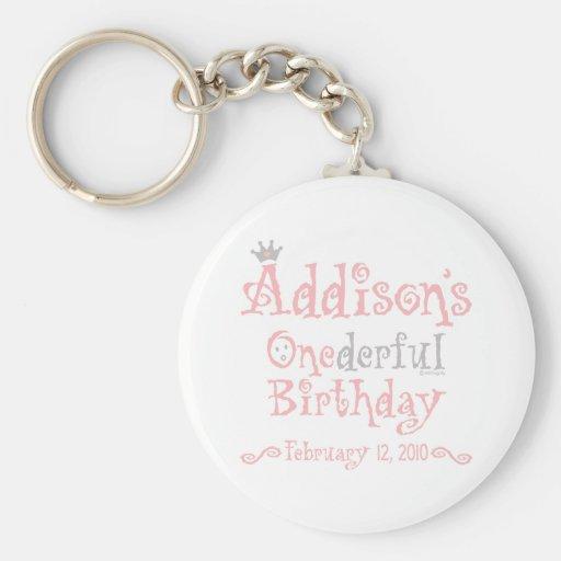 Custom Design - Addison Keychain
