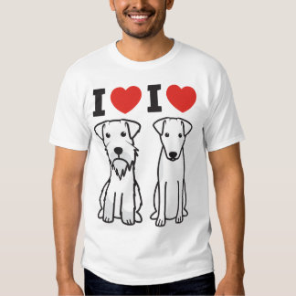Custom design: Mini Schnauzer & Smooth Fox Terrier Tshirts