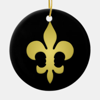 "Custom Design ""Super Saints"" Christmas Ornament"