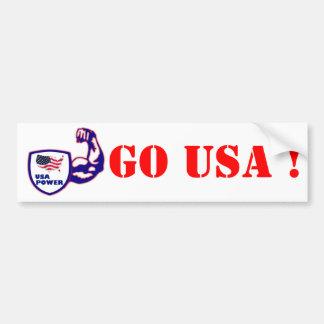 Custom design USA bumper sticker Car Bumper Sticker