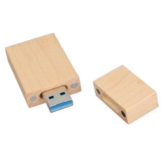 Custom Design Wood Case USB Drive