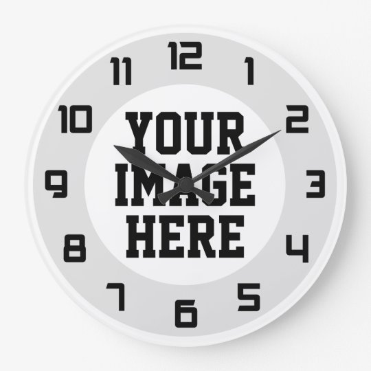 "Custom ""Design Your Own"" unique wall clock"
