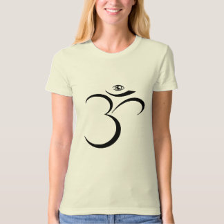 Custom Designed Third Eye Om T-Shirt
