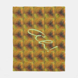 Custom Digital Abstract Fleece Blanket