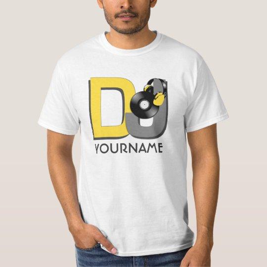Custom DJ shirt - choose style & color