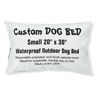 "Custom Dog Bed - OUTDOOR Small 20"" x 30"""