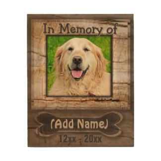 Custom Dog Memorial Wood Plaque Wood Wall Art
