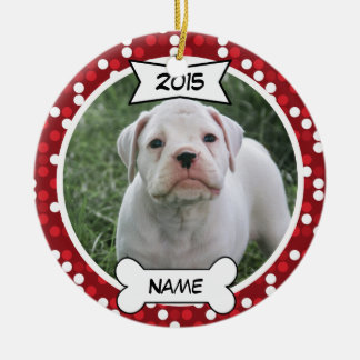 Custom Dog Photo Ornament