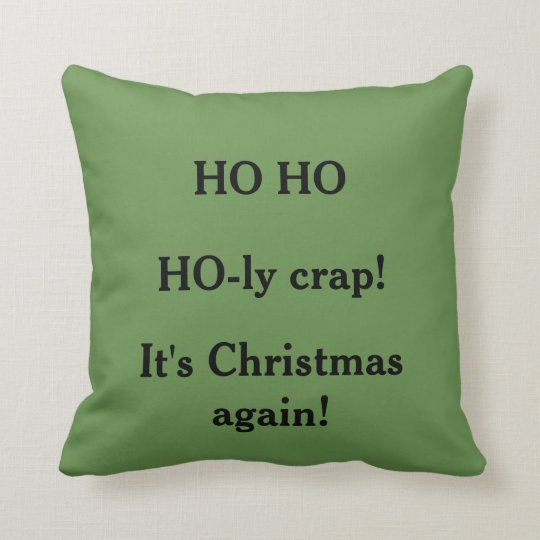 Custom Double Sided Christmas Pillow