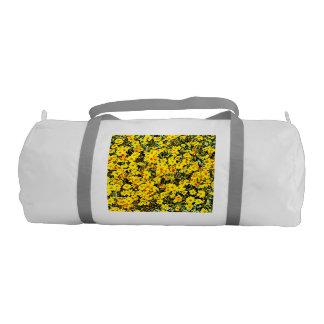 Custom Duffle Gym Bag In Wildflowers Gym Duffel Bag