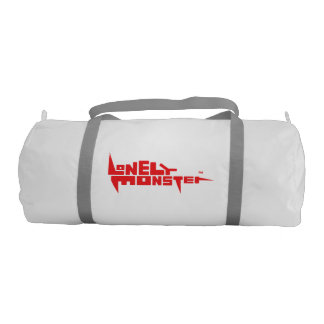 Custom Duffle Gym Bag - Red Logo Gym Duffel Bag