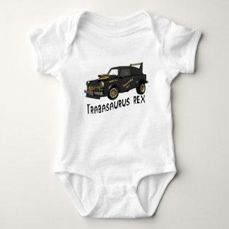Custom East German Trabant Car Baby Bodysuit