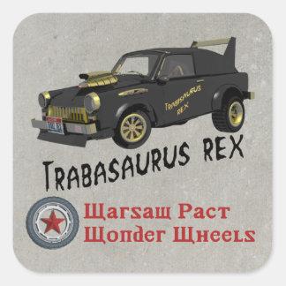 Custom East German Trabant Car Stickers