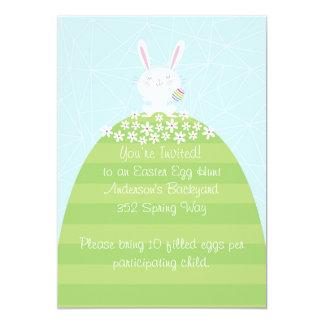 Custom Easter Egg Hunt Inviatation 13 Cm X 18 Cm Invitation Card