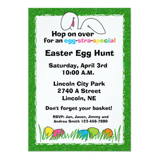 Custom Easter Party Invitations