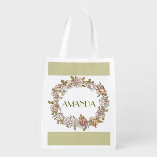 custom eco tote bag,monogram
