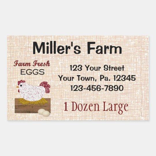 Custom Eggs Sticker
