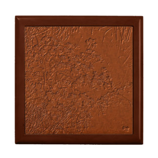 Custom Elegant Copper Textured Gift box