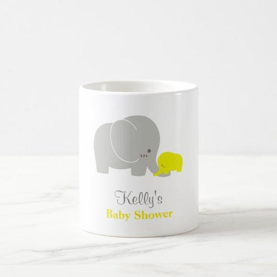 Custom Elephant Baby Shower Mug Party Favour
