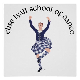 CUSTOM Elise Lyall School of Dance Print