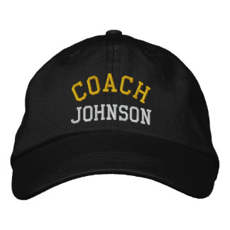 Custom Embroidered Coach Hat Embroidered Hat
