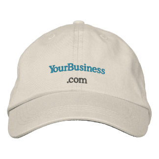 Custom embroidered company website uniform hat embroidered cap