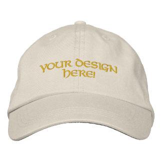 Custom Embroidered Hat Design