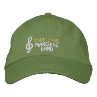Custom Embroidered Marching Band Hat