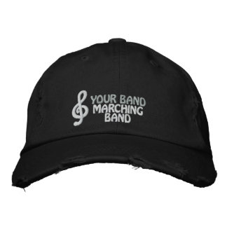 Custom Embroidered Marching Band Hat Baseball Cap