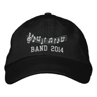 Custom Embroidered Music Band Hat Embroidered Baseball Cap