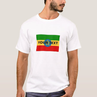 Custom Ethiopia Flag T-Shirt
