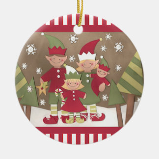 Custom Family Christmas Gift Christmas Ornament
