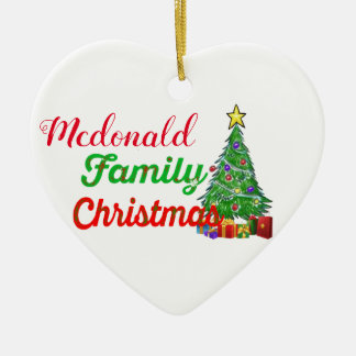 custom family first christmas decoration ornament