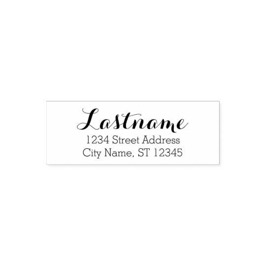Custom Family Name and Return Address - Whimsy