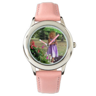 Custom Family or Child Personalized Picture Watches