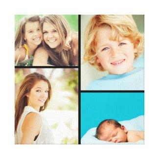 Photo Collage Canvas Print