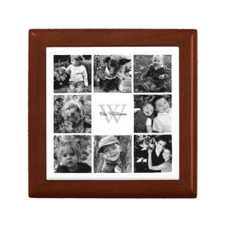 Custom Family Photo Collage Gift Box