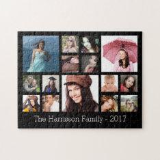 Custom Family Photo Collage Jigsaw Puzzle at Zazzle