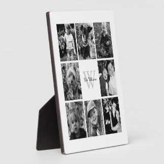 Custom Family Photo Collage Plaque