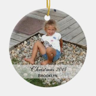 Custom  |  Family Photo Ornaments