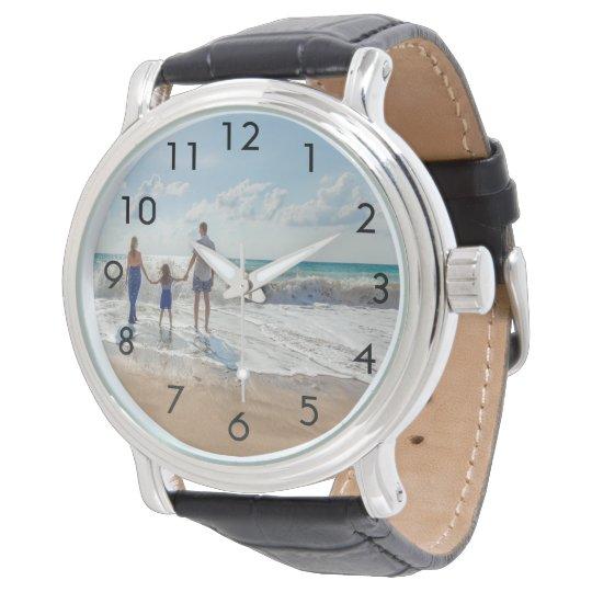 Custom family photo watch