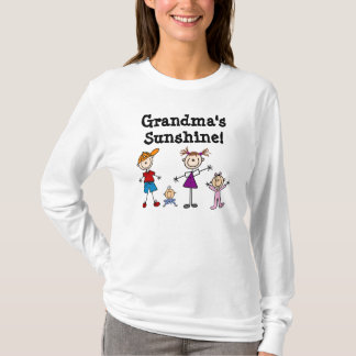Custom Family Stick Figure Kids Tshirts