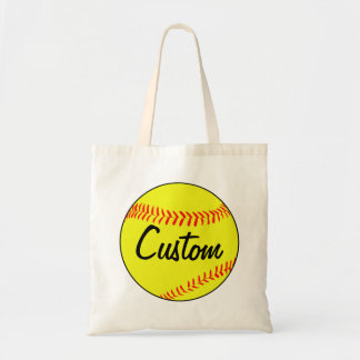 Custom Fastpitch Softball Tote Bag