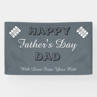 Custom Father's Day Banner