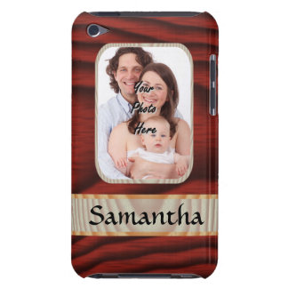 Custom faux wood photo template iPod touch cover