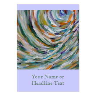 Custom Fine Art Chubby Business Card Template