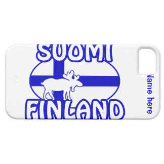 Custom Finland Moose iPhone 5 Case-Mate