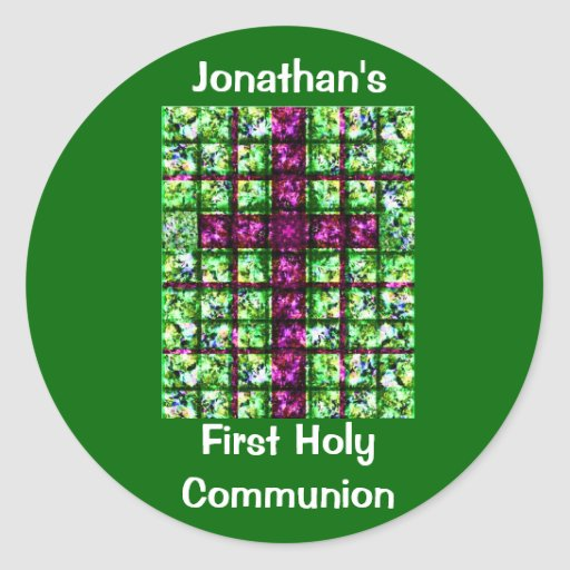 Custom First Holy Communion Stickers