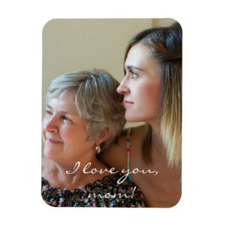 Custom Flexible Photo Magnet For Mom From Daughter