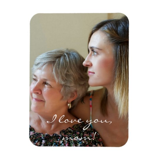 Custom Flexible Photo Magnet For Mum From Daughter
